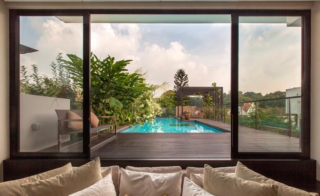 בית חלומות סינגפור, מבט לבריכה (צילום: Sanjay Kewlani)