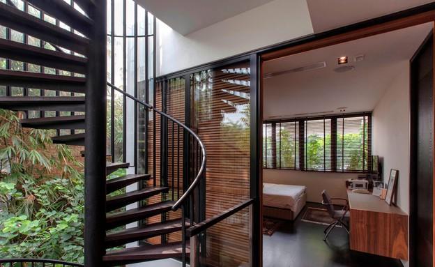 בית חלומות סינגפור, מדרגות (צילום: Sanjay Kewlani)