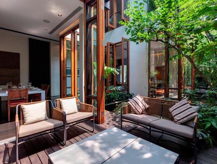 בית חלומות סינגפור, מרפסת