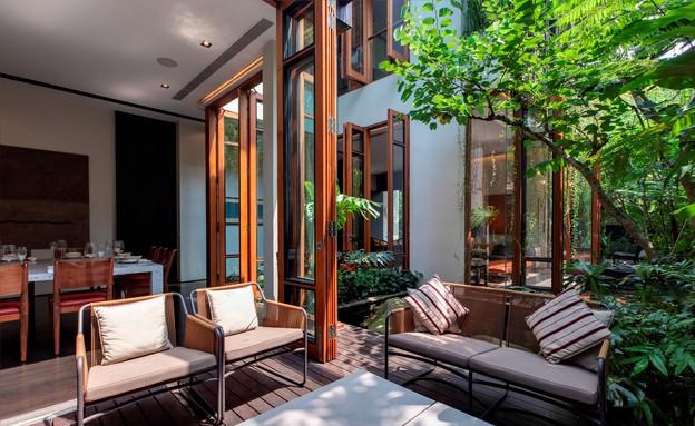 בית חלומות סינגפור, מרפסת (צילום: Sanjay Kewlani)