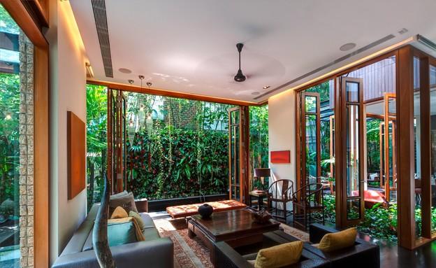 בית חלומות סינגפור, סלון כללי (צילום: Sanjay Kewlani)
