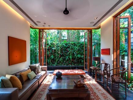 בית חלומות סינגפור, סלון
