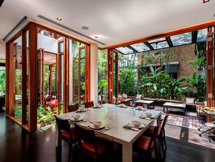 בית חלומות סינגפור, פינת אוכל