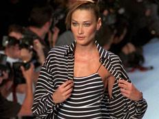 קרלה ברוני בבגד ים (צילום: חדשות 2)
