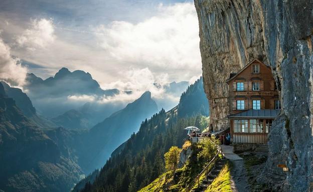 הבקתה בקצה ההר, הכי בעולם 5 (צילום: pbase.com)