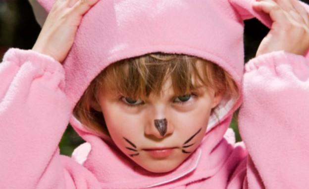 ילד כועס בתחפושת (צילום: אימג'בנק / Thinkstock)