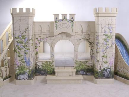 מיטת ילדים,, ארמון