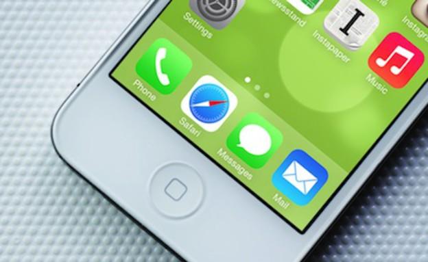 iOS 7 (צילום: akufu.com)