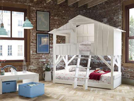 מיטות ילדים, בית עץ
