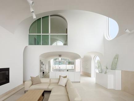 תחרות אדריכלים, בית וולט, סלון