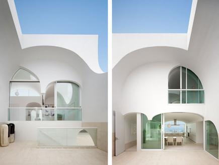תחרות אדריכלים, בית וולט, קשתות