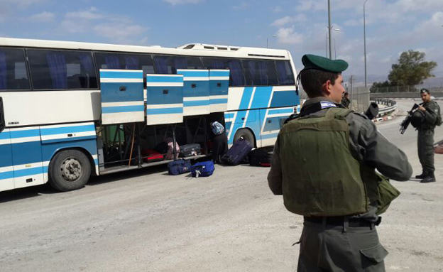 מעבר אלנבי, בו אירעה התקרית (צילום: רשות שדות התעופה)