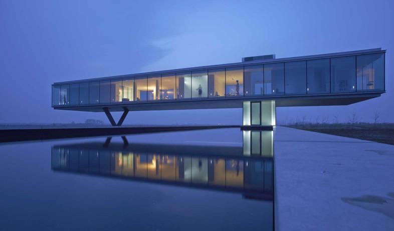 תחרות אדריכלים, וילה קוגלהוף, אגם (צילום: Jeroen Musch)