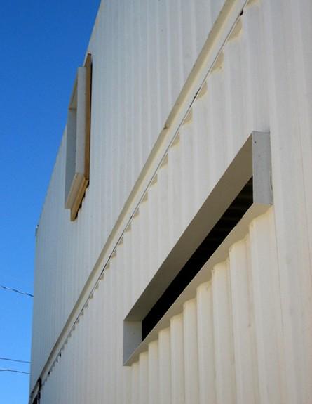 קונטיינרים חדש, בית החוף ברדונדו חלונות גובה, צילו (צילום: DeMaria Design Associ)