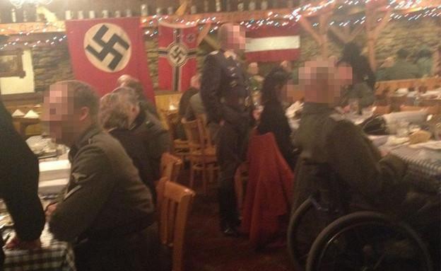 מסיבה נאצית במיניאפוליס (צילום: City Pages)