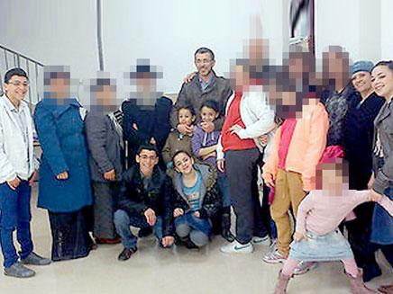 בני המשפחה (צילום: משה בוזגלו, האלבום המשפחתי)