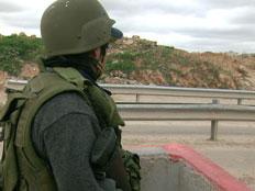 פלסטיני נורה לאחר שניסה לחבל בגדר. ארכיון