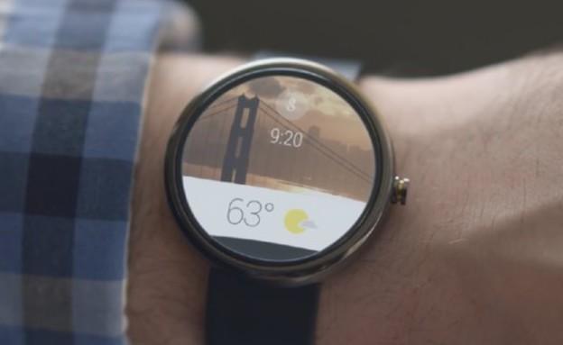 android wear, השעון החכם של גוגל (צילום: גוגל)