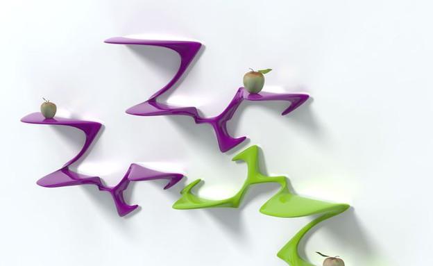 צילום Peter Donders מדפסות תלת מימד, מדפים (צילום: Peter Donders)