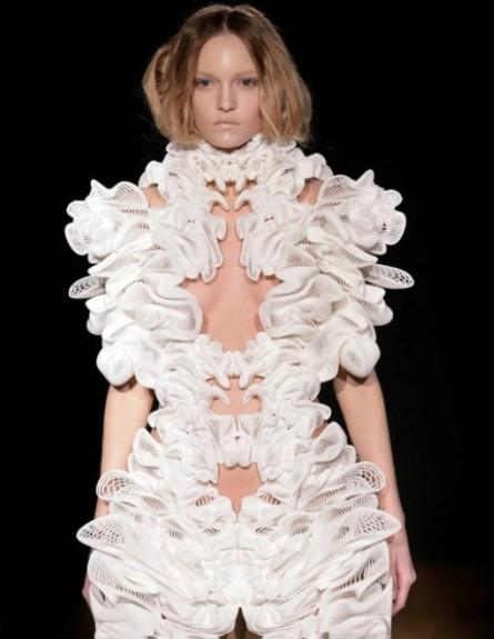 Unconfirmed מדפסות תלת מימד, שמלה אישה (צילום: Unconfirmed)