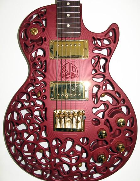 מדפסות תלת מימד, גיטרה גובהodd.org.nz (צילום: odd.org.nz)