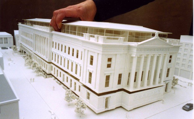 מדפסות תלת מימד, מבנה לבן solidsmack.com (צילום: solidsmack.com)