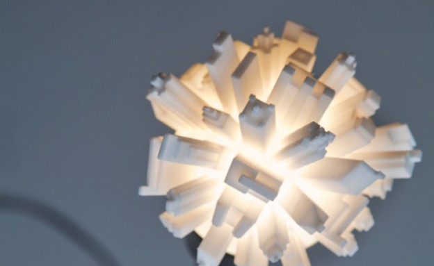 מדפסות תלת מימד, מנורה תקריבצילום Tim Stet (צילום: Tim Stet)