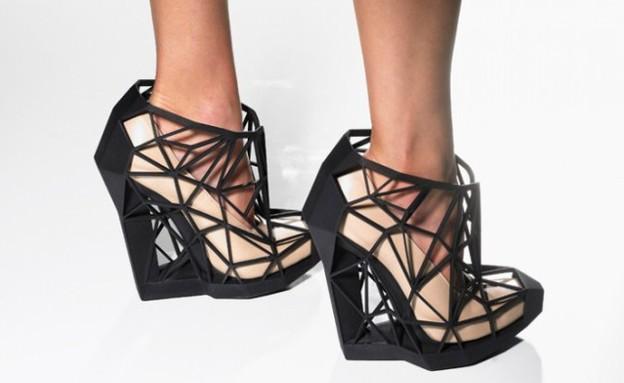 מדפסות תלת מימד, נעליים בשחורצילום יחצ  andreiacha (צילום: andreiachaves)