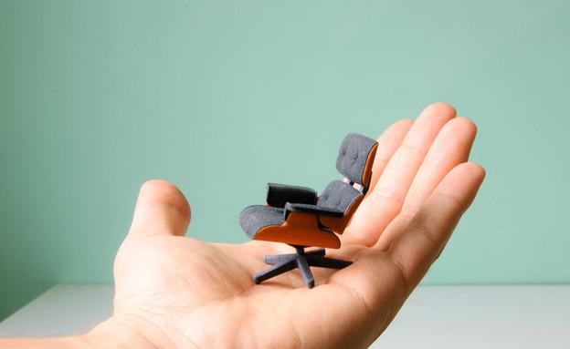 Kevin-Spencer-3Dמדפסות תלת מימד, כיסא אימס (צילום: Kevin-Spencer-3D)