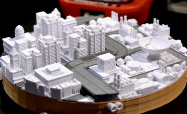 MakerBot'sמדפסות תלת מימד, עיר (צילום: MakerBot's)