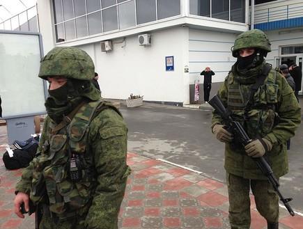 חיילים רוסים לא מזוהים
