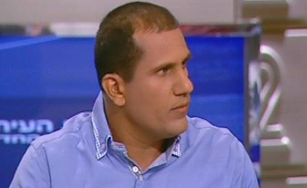 """עו""""ד אסף שרעף פקרליטה של ליליאן פרץ (צילום: חדשות 2)"""