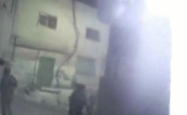 """כך נראתה פעולת הימ""""מ בג'נין (צילום: דוברות משטרת ישראל)"""