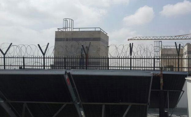 כך פורק המבצר של העבריין (צילום: עיריית אשקלון)