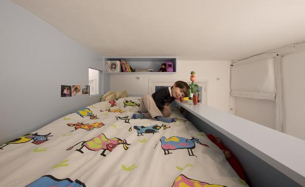 עיצוב חדר ילדים קטן (צילום: Stéphane Chalmeau)