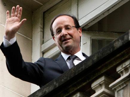 בדרך החוצה? הנשיא הולנד (צילום: רויטרס)