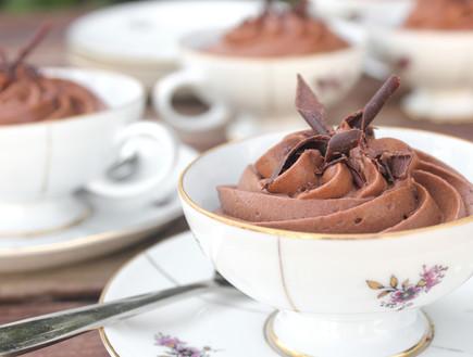 מוס אספרסו ושוקולד חלב (צילום: אסתי רותם, אוכל טוב)