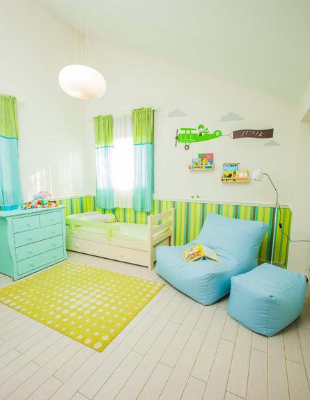 עידית זכריה חדש, חדר ילדים כללי גובה (צילום: אודי גורן)
