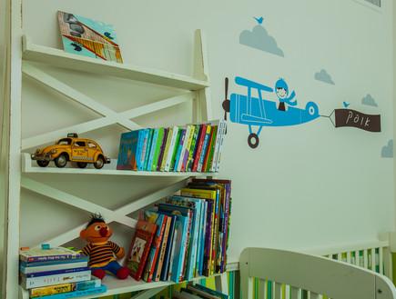 עידית זכריה חדש, חדר ילדים מיטה (צילום: אודי גורן)