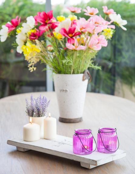 עידית זכריה חדש, מרפסת פרחים גובה (צילום: אודי גורן)
