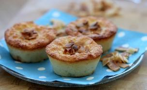 """עוגות קוקוס אישיות (צילום: עידית נרקיס כ""""ץ, אוכל טוב)"""
