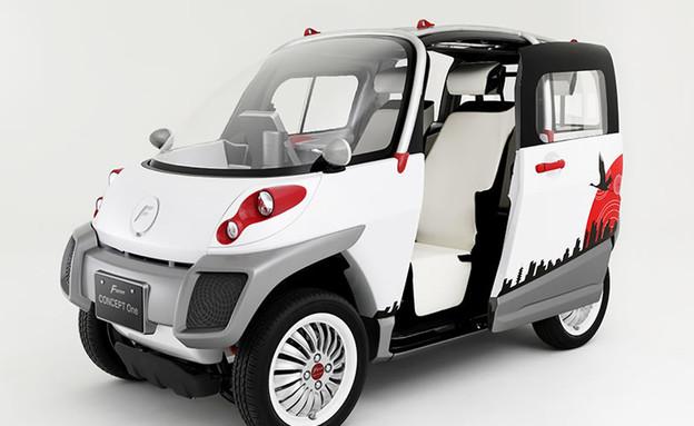 רכב חשמלי אמפיבי