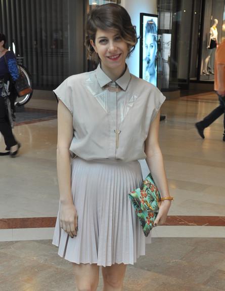 דפנה לוסטיג (צילום: צ'ינו פפראצי)