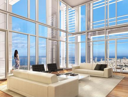 דירות יקרות - מגדל מאייר ברוטשילד (צילום: הדמייה: Viewpoint)