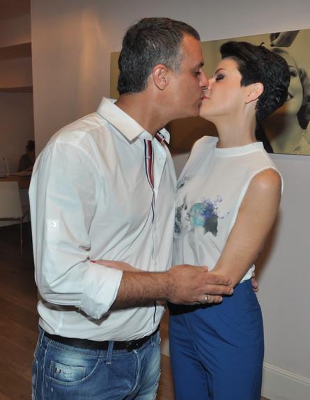 דנה רון ויריב נתי (צילום: צ'ינו פפראצי)