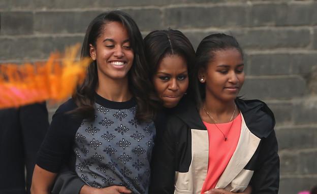 משפחת אובמה מסביב לעולם (צילום: Feng Li, GettyImages IL)