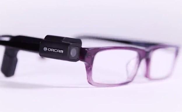 המצלמה הלבישה של OrCam לכבדי ראייה
