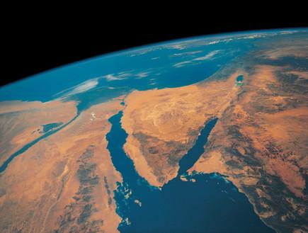 מבט לוויין על המזרח התיכון