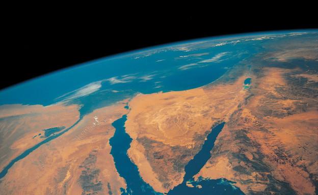 מבט לוויין על המזרח התיכון (צילום: אימג'בנק / Thinkstock)