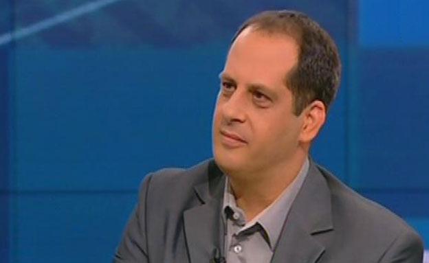 יועץ התקשורת של אהוד אולמרט, אמיר דן (צילום: חדשות 2)